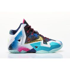 Nike What the LeBron 11 Release Date, Official Photos ❤ liked on Polyvore featuring shoes