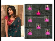 Layered Tassels For Sarees/Blouses/Duppata | Beauty Express - YouTube