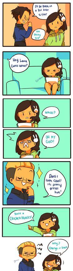 Anti-Social Media :: 47: Chicken Nugget | Tapastic Comics - image 1