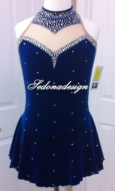 Custome Made Ice Skating Dress #Lilyspotswear
