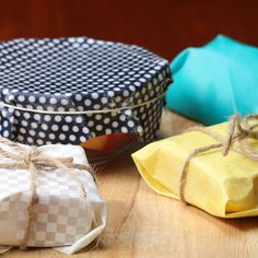 Save the planet by using beeswax wraps - easy steps to make them are included