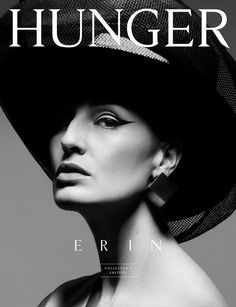Erin O'Connor on Hunger Magazine (Limited Edition Collector's Edition) 08 Cover. Photo by Rankin.