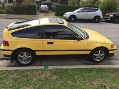 1989 Honda CRX, SI