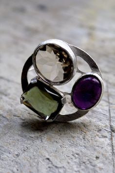 https://flic.kr/p/gjfe4d   brooch for Victoria    silver, amethyst, vintage glass BAW 52-33