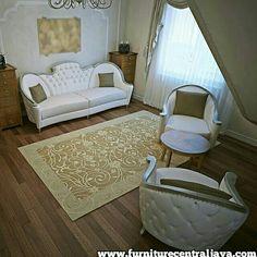 Set sofa luxury vamli #sofabeatiful www.furniturecentraljava.com