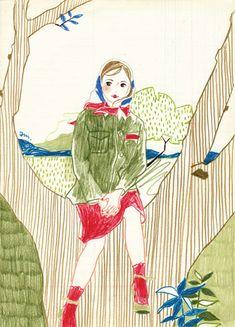 Illustration - Asako