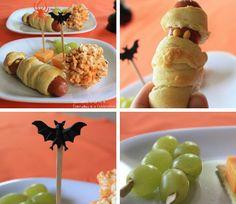 Comida para fiesta de #halloween