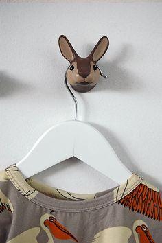 Wallhook Rabbit, design Jorine Oosterhoff