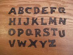 alphabet Alphabet Soup, Block Lettering, Typography Fonts