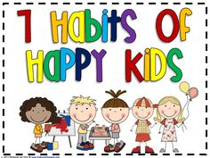 Freebie: Are you a fan of 7 Habits for Happy Kids? These posters are a perfect fit with that program! Included are the seven habits, their tagline, and the. 7 Habits Posters, 3rd Grade Thoughts, Healthy Habits For Kids, Classroom Posters, Classroom Ideas, Classroom Inspiration, Classroom Organization, Seven Habits, Class Meetings