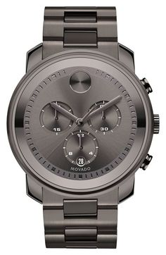 Movado 'Bold' Chronograph Bracelet Watch, 44mm available at #Nordstrom