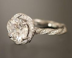Rocks on rocks on rocks: Engagement Ring Eye Candy