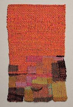 Spring inspiration too Sheila Hicks - Village of Mummy Bundles Weaving Textiles, Textile Fabrics, Weaving Art, Loom Weaving, Tapestry Weaving, Hand Weaving, Textile Fiber Art, Textile Artists, Felt Fabric