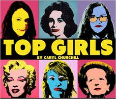 Top Girls is a 1982 play by Caryl Churchill. It is about a woman named Marlene, a career-driven woman who is only interested in women's success in business.