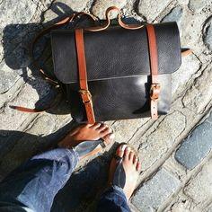 N'Damus black 'Trilogy-Lux' http://www.ndamus.com/collections/luxury-rucksacks