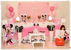 Minnie Mouse Birthday Party Ideas | Photo 10 of 14