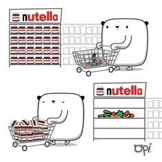 La mejor decisión!! #nutella