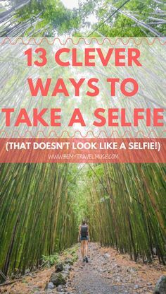 No photographer? No problem! Here are 13 ways to take a selfie, that does not look like a selfie! Read my best tips and tricks on how you can take beautiful photos of yourself even when you travel solo | Be My Travel Muse #SoloTravelTips #PhotographyTips #Selfie