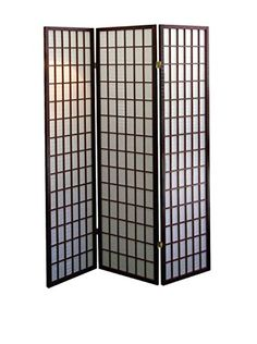 www.myhabit.com  Define a space or create privacy with this lovely 3-panel room divider; folds flat for easy storage