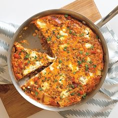This Crawfish Boil Frittata brings all the flavors you know and love to brunch.