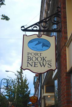 sign for Port Book and News