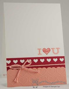 The Crafty Owl's Blog | Pictogram Punches I Love You Card - And Another Sneak Peek!