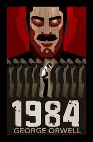 George Orwell: If you haven't read this book before, go borrow the nearest copy you can right now. George Orwell, Margaret Atwood, Illuminati, Hunger Games, Tomas Moro, Control Social, Rose Croix, High School Books, Nineteen Eighty Four