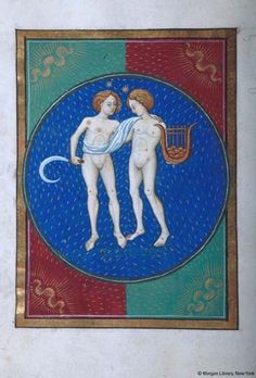 Book of Hours, MS G.14 fol. 7v - Images from Medieval and Renaissance Manuscripts - The Morgan Library & Museum
