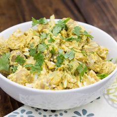 Curry Baharatlı Patates Salatası