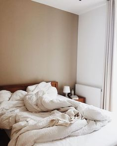 Quirky Home Decor .Quirky Home Decor Brown Bed Linen, Neutral Bed Linen, Bed Linen Sets, Home Bedroom, Bedroom Decor, Bedrooms, Bedroom Ideas, Master Bedroom, Messy Bed