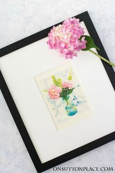 Summer+Flower+Watercolor+Printables+|+Use+for+DIY+wall+art,+cards,+crafts,+screensavers+and+more!+It's+free+and+super+easy+to+download+and+print+from+home.