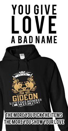 GIDEON . Team GIDEON Lifetime member Legend  - T Shirt, Hoodie, Hoodies, Year,Name, Birthday