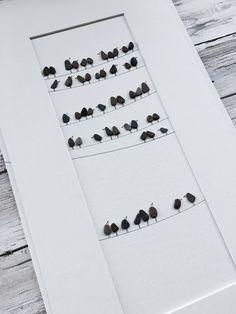 Petits galets de verre de l'Art et la mer Art par Sharon Nowlan Cette pièce est disponible encadré ou non avec mat seulement. Il va être encadré ou feutré à 8 par 15 pouces. Placez l'article dans votre panier pour voir les options et les prix pour chacune, ainsi que les frais de port ou