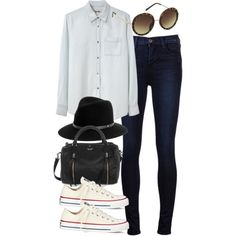 """""""outfit for college"""" by im-emma on Polyvore"""