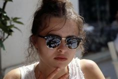 Helena Bonham Carter at the 1989 Cannes Film Festival