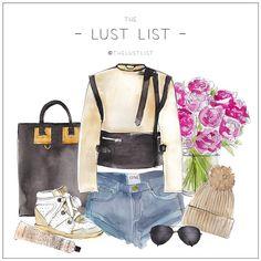 LUST LIST | Monday Must Haves #thelustlist #sophehume #oneteaspoon #isabelmarant #stellamccartney #rayban #chloe