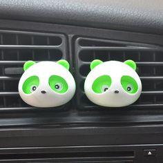 Air Freshener Automobiles & Motorcycles 1 Pair Panda Air Freshene Rcar Air Conditioning Vent Perfume Panda Eyes Will Jump 5 Colors Parfume Car Styling Discounts Price
