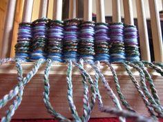 The Daily Make: Peg Loom Weaving