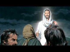Jesus calms a storm on the sea, and his disciples marvel that even the wind and sea obey Him. Life Of Jesus Christ, Holy Ghost, Faith In God, Spiritual Quotes, Savior, Calming, Spirituality, Bible, Waves
