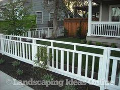 Clean Crisp Fencing   Fences Gallery