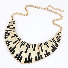 Free Punk Gold Plated Necklace - Just Pay For Shipping