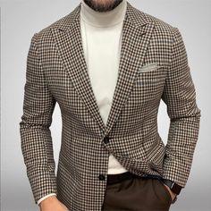Blue Blazer Outfit Men, Blazer Outfits Men, Casual Outfits, Suit Fashion, Mens Fashion, Fashion Coat, Blazers For Men Casual, Dress Suits For Men, Mens Suits