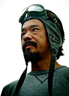 Shinya Kimura. Check out his video on Vimeo, great artisan and biker.