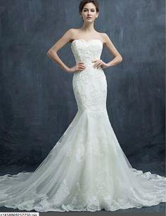 Mermaid Wedding Dress Sweatheart Neckline BOHO WEDDING DRESS BOHEMIAN WEDDING DRESSES