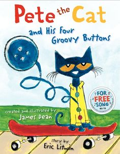 pete the cat buttons