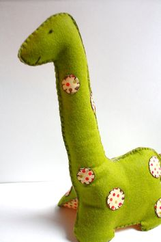 felt dinosaur- so cute!!!