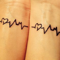 Best friends matching tattoos