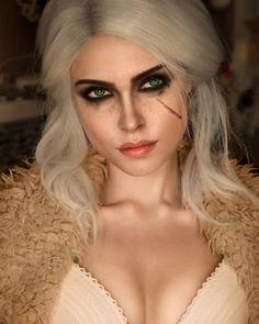 Ciri Cosplay by Ilona Bugaeva : witcher Ciri Witcher, Witcher Art, The Witcher Books, The Witcher 3, Cosplay Makeup, Cosplay Costumes, Witcher Wallpaper, Fantasy Characters, Female Characters