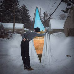 The Surreal World of Mesmerizing Photographic Illusions by Logan Zillmer #inspiration #photography