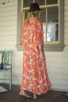 Desert Rose kimono by Spell & the Gypsy Collective. Limited edition.